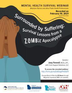 Mental Health Webinar Flyer