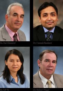 Dr. Samawi, Dr. Rochani, Dr. Yu, Dr. Vogel