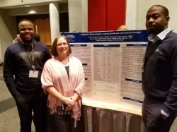 Dr. Kelly Sullivan and students at the Rural Health Conference at the University of Alabama.