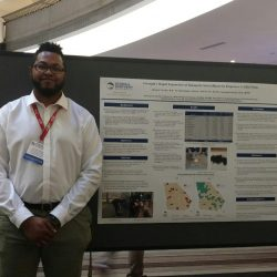 Mr. Deonte Martin won Poster Award at the Georgia Public Health Association Annual Meeting and Conference.