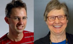 Dr. Mark van der Laan and L. Adrienne Cupples